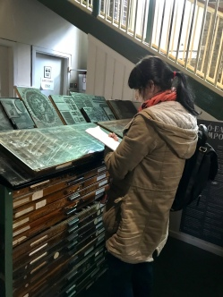 Drawing at the National Print Museum