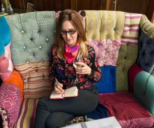 Adrienne Blogging Away...