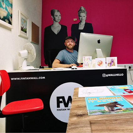 Artist of the Month July-Fintan Wall15